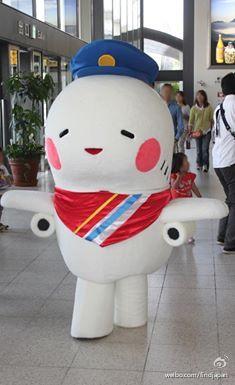 治愈的大阪国际机场的吉祥物